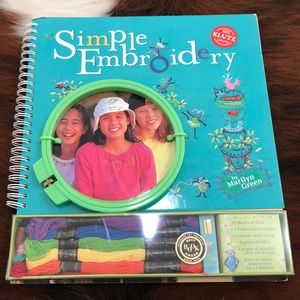 Simple Embroidery book with starter kit